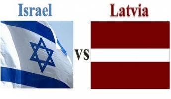 منتخب اسرائيل في كرة القدم يواجه منتخب لاتفيا في مسابقة Bingo السادسة