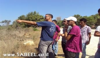 رحلة إلى منطقة حيفا وأخرى إلى تل دان والكياكم في اليوم الثالث من أسبوع الشبيبة