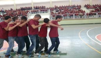 أبو سنان : الاحتفال بافتتاح مركز الشّبيبة (מרכז נעורים) في المدرسة الاعداديَّة