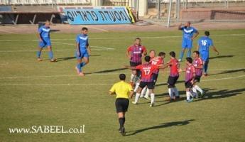 فريق هبوعيل أبناء المغار يتعادل بالنتيجة 1-1 مع فريق أبناء كابول على ملعب الدوحة سخنين
