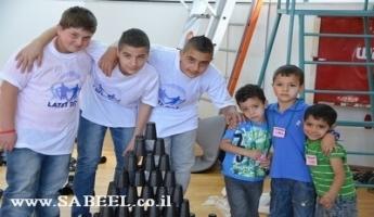 المغار : يوم تطوّعي لمركز الشّبيبة (מרכז נעורים) بالتّعاون مع مُنظّمة לתת من أجل أطفال البساتين