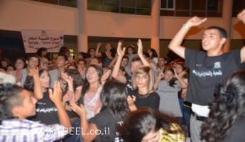 المغار : حفل مهيب بمُشاركة 600 شخص في اختتام مُخيَّم الشَّبيبة الصَّيفي