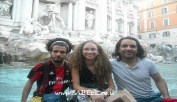 الفنان ليئور أسعد وموسيقيون عرب في ايطاليا