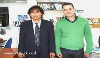 لقاءٌ مع المُذِيع ِ ومُقدِّم ِالبرامج ِ المشهور : شادي  بلان