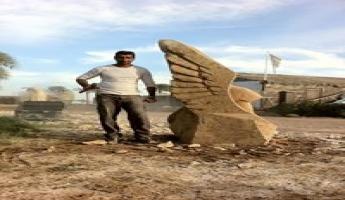 الفنان حكمت خريس يشارك في مهرجان النحت اوستراكا الدولي في شرم الشيخ
