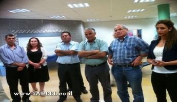 البقيعة : زيارة إطّلاع على برنامج مركز الشّبيبة (מרכז נעורים) يُجريها عددٌ من أعضاء المجلس المحلّي والشّخصيّات التّربويّة