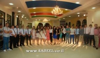 ساجور : مدرسة أورط الثانوية تخرّج فوجها الثامن