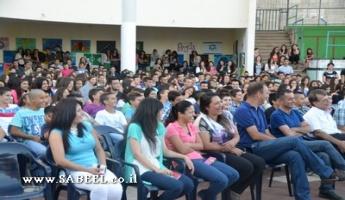 المغار: حفل مهيب يُشارِك فيه أكثر من 600 شخص باختتام مُخيَّم الشَّبيبة الصَّيفي الثّالث