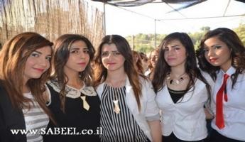 المغار :  مدرسة قاسم غانم الشاملة تحتفل في منتزه بردايس بتخريج الفوج الخامس والثلاثين من طلاب الثواني عشر