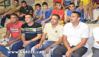 المغار: افتتاح الملعب مُتعدّد الأهداف في حي الحريق