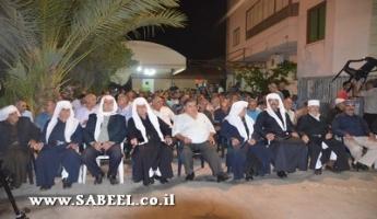 المغار: اجتماعٌ جماهيريٌّ حاشِد دعمًا لمُرشَّح الرّئاسة، رئيس المجلس المُحامي فريد غانم