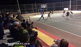 المغار : افتتاح دوري كرة القدم المصغرة في ملعب الحريق