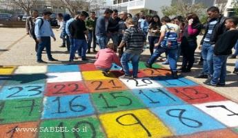 """المغار: الإعداديَّة """"أ"""" في يوم أعمال تطوّعيّة بمُشاركة مركز الشَّبيبة (מרכז נעורים)"""