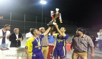 فريق جولس يتوج بطلا لدوري كرة القدم المصغرة في شفاعمرو