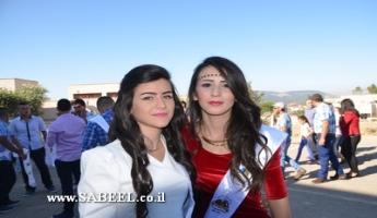 بيت جن: مدرسة بيت جن الشّاملة تحتفل بتخريج الفوج الـ34 من طُلّاب الثواني عشر