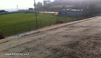 المغار : بشرى سارة - افتتاح الملعب البلدي أمام مباريات فريق هبوعيل أبناء المغار من الدرجة الثانية