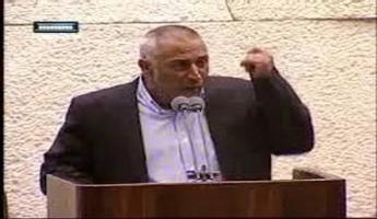 "النائب طلب ابو عرار:"" قرار نتنياهو تحت حذائي..."