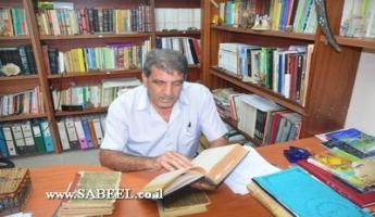 المغار: مكتبة الأستاذ سليم عنتير الخاصّة غنيَّة بالمصادر النّادرة والجوّ الثَّقافيّ والأدبيّ
