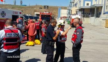 سلطة الإطفاء: تسرّب مادّة خطيرة في مصنع تنوفا في ألون تفور