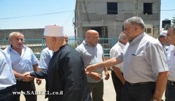 المغار : وجهاء من الطائفتين الدرزية والمسيحية يعايدون ابناء الطائفة الاسلامية بمناسبة عيد الفطر السعيد