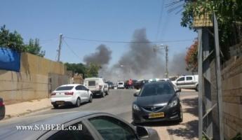 الشجار العنيف في رهط واعتقال 20 مشتبها من كلا الطرفين