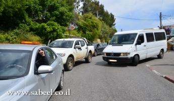 مدير عام وزارة النقل: الطرق 806 و 807 بالقرب من قرية المغار لم يتم التعامل معها من قبل وزارة المواصلات