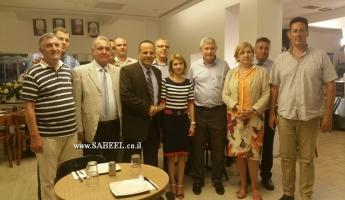القرا يستقبل وفد رفيع المستوى من بلغاريا
