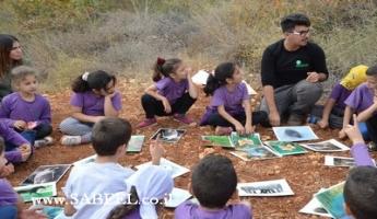 المغار: جمعيّة حماية الطّبيعة تحيي يوم قمّة في التّربية البيئيّة من خلال فعاليّات الزّيت والزّيتون لمدرسة أجيال المستقبل الابتدائيّة