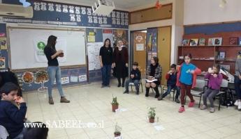 جمعيّة حماية الطّبيعة ويوم قِمّة بيئيّ في مدرسة أبو سنان الابتدائيَّة (ا)