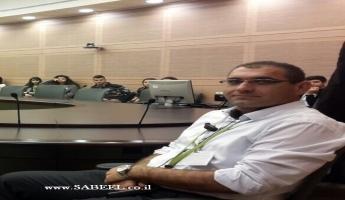 المربي هاشم هايل بدر مديرا للمدرسة الشاملة في بيت صفافا