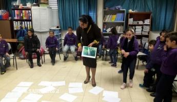 يوم قِمّة بيئيّ تحييه جمعيّة حماية الطّبيعة في مدرسة التّسامُح الابتدائيّة (ج) – أبو سنان