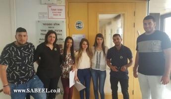 توزيع منح دراسية في جامعة حيفا على اسم المرحوم المربي يوسف دغش