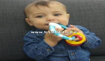 مصرع الطفل أمير طليع نعيم بدر ابن العام من حرفيش في حادث دهس