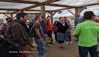 جمعيَّة حماية الطَّبيعة تستضيف بعثة أوروبيّة من مُمثّلي المُنظّمات البيئيّة في موضوع الطَّبيعة المدنيَّة والحدائق العامّة