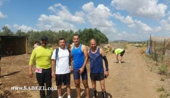 مجموعة عدائي حرفيش تشارك في مسابقة محلية/دولية للجري
