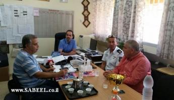 رئيس بلدية طمرة  الدكتور سهيل ذياب: التعاون مع سلطة الاطفاء والانقاذ مهم بهدف الحفاظ. على حياة الجميع.