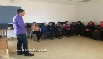 مُحاضَرة بيئيّة للنّساء في دير الأسد بمُبادرة من قسم الصِّحّة والبيئة في المجلس المحلّي وجمعيَّة حماية الطَّبيعة