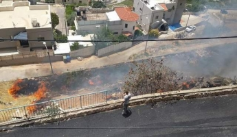 المغار : اصابة ثلاثة اشخاص في الحي الغربي جراء استنشاق الدخان نتيجة حريق شب بين المنازل قبل قليل