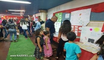 """المغار – معرض الأبحاث العلمية والأعمال الابداعية في المدرسة """"د"""" الابتدائية"""