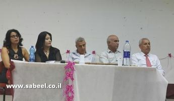 """أمسية أدبية احتفاء باشهار كتاب """"الجميلة"""" للكاتب الصحفي زياد شليوط في شفاعمرو"""
