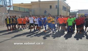 المغار: افتتاح دوري السّلام في كرة القدم المُصغّرة على ملعب المدرسة الشّاملة قاسم غانم.