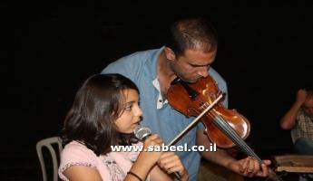 التحضيرات لاستقبال الامسية الاولى من  مهرجان سوبر ستار شروق ال 13  في البقيعة