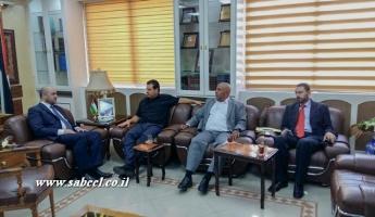 النائبان عودة وأبو عرار يلتقيان وزير الأوقاف الأردني للتسهيل على الحجاج