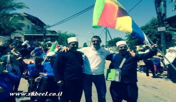 جمعية أفاق المستقبل تستقبل ضيوف مسيرة مخيم التوعية التوحيدية الثامن في قرية بيت جن