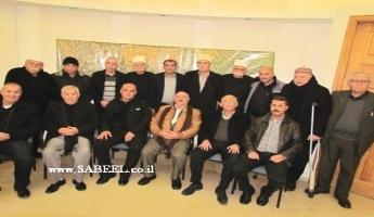 في بيت الدكتور النائب عبدالله ابومعروف في يركا...