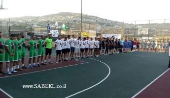 المغار : دوري كرة قدم مصغرة على اسم الشرطي المرحوم هايل ستاوي