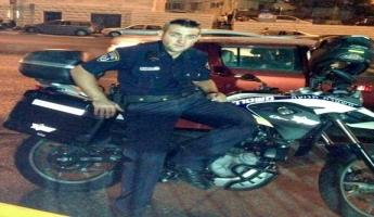 الشرطة تشارك عائلة الفقيد الشرطي
