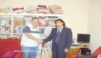 - لقاءٌ مع الكاتبِ والناقدِ الدكتور نبيل عوض طنوس - ( أجرى اللقاء : حاتم جوعيه - المغار - الجليل )