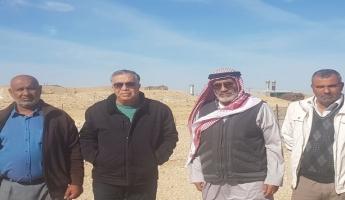 كايد ظاهر في جولة تفقدية للقرى البدوية في النقب يؤكد على ضرورة وضع البرامج الارشادية وتعزيز عمل الاطفاء والانقاذ في القرى غير المعترف بها