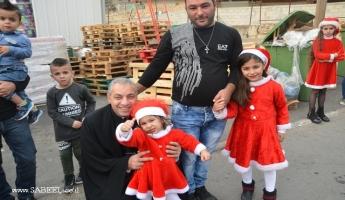 المغار : مسيرة عيد الميلاد لعام 2017 تجوب شوارع القرية